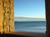 над окном Стоковое Фото