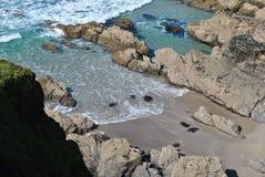 над пляжем Стоковая Фотография RF