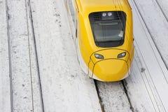 над поездом Стоковые Изображения RF