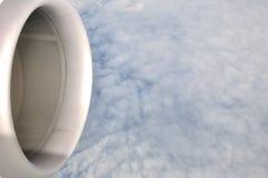 над слоем летания облака Стоковая Фотография