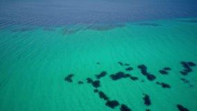 Над съемкой моря воздушной сток-видео