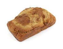 над хлебом дом сделал пшеницу стоковое изображение