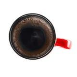 над чашкой coffe Стоковая Фотография RF