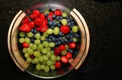 над ягодами стоковые изображения