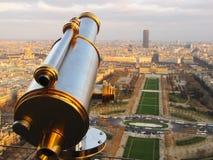 над paris стоковая фотография rf