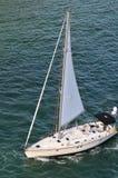 над yatch взгляда sailing Стоковые Фото