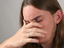 нажатие предназначенное для подростков Стоковые Фотографии RF