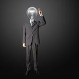 нажим светильника полусферической шляпки Стоковые Фотографии RF