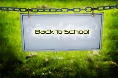 Назад к школе Стоковые Фото