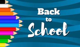 Назад к school-09 Стоковое Изображение RF