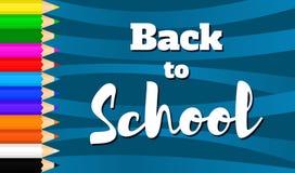 Назад к school-10 Стоковые Фотографии RF