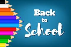 Назад к school-08 Стоковая Фотография