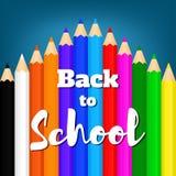 Назад к school-11 Стоковые Фото