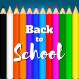 Назад к school-01 Стоковые Изображения