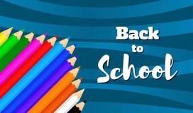 Назад к school-07 Стоковые Фотографии RF