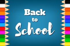 Назад к school-05 Стоковое Фото