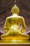 назад изображения Будды Стоковая Фотография