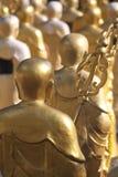 Назад китайской статуи монаха Стоковое Изображение