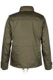 Назад куртки с клобуком Стоковое фото RF