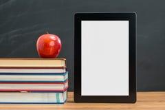 Назад к школе вам нужно суметь как использовать таблетку цифров для st Стоковое Изображение RF