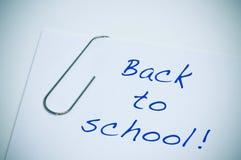 Назад к школе Стоковое Изображение RF
