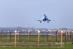 Назад от полета Стоковые Изображения RF