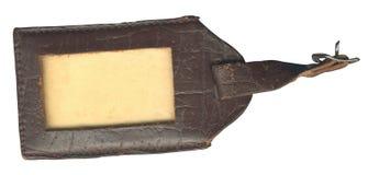 названная старая бирка Стоковые Фотографии RF