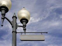 названный знак столба ваш стоковая фотография rf