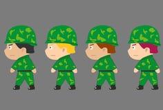 Наземные войска Стоковое фото RF