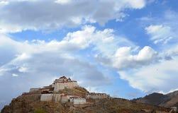 наземный ориентир Тибет Стоковые Фотографии RF