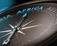 Назначение перемещения - Африка Стоковые Фото