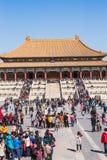 Назначение туризма Пекина музей национального дворца в Китае Стоковое Изображение