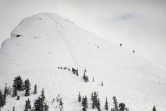 Назначение лыжи задней страны Стоковые Фото