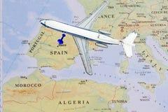 Назначение Madid, Испания Стоковые Фотографии RF