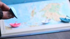 Назначения каникул или тропическая идея пляжа сток-видео