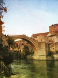 назначения перемещения в Боснии стоковое изображение