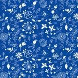 Наивный цветочный узор Стоковая Фотография RF