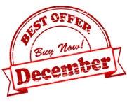 Наилучшее предложение декабрь бесплатная иллюстрация