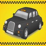 наймите свой повернутый таксомотор london света Стоковое Изображение RF
