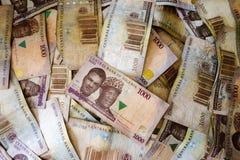 Найра, деньги от Нигерии Стоковая Фотография RF