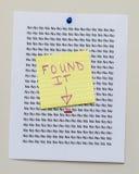 Найдите утвердительный ответ Стоковые Изображения RF