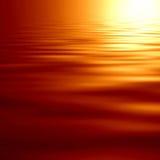 Накаляя заход солнца Стоковые Фотографии RF