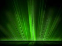 накаляя зеленые спайки Стоковые Фотографии RF