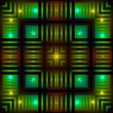 накаляя квадраты Стоковые Фотографии RF