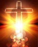 Накаляя крест Стоковая Фотография RF
