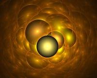 Накаляя пузыри мыла Стоковые Фотографии RF