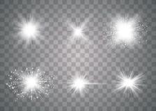Накаляя световой эффект бесплатная иллюстрация