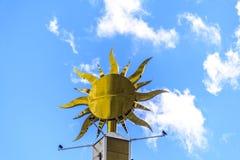 накаляя солнце Стоковые Изображения