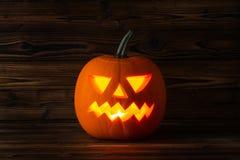 накаляя тыква halloween Стоковое Изображение RF