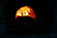 Накаляя embers Стоковые Фотографии RF